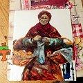 """Tort z malowaną """"Pomarańczarką"""" Gierymskiego #gierymski #pomarańczarka #tort #TortyArtystyczne #TortyKraków #TortyWalentynki"""