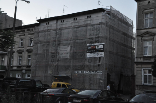 Bydgoszcz Plac Piastowski #Bydgoszcz #kamienica #remont