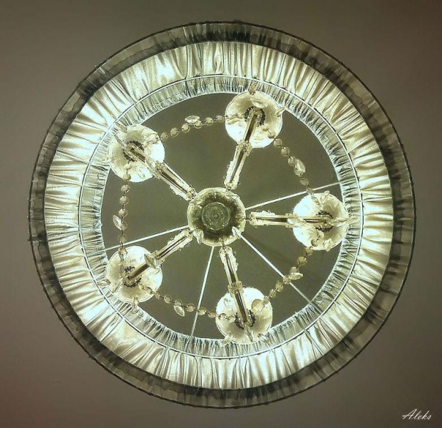 żyrandol #światło
