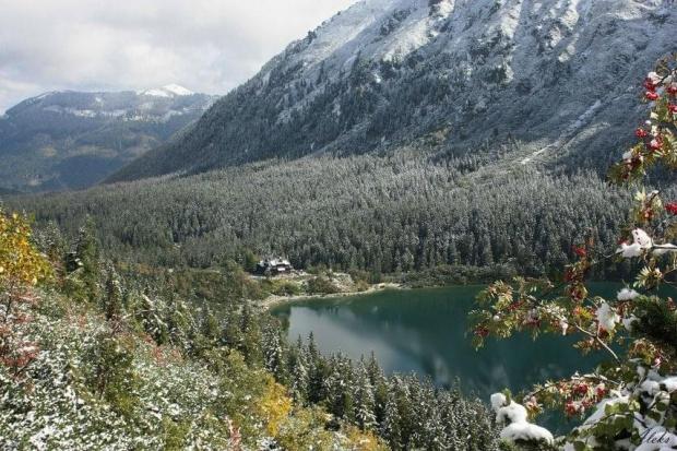 w górach już zima :) #góry #krajobraz #tatry
