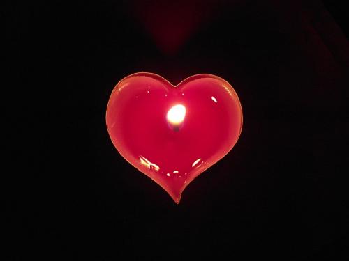 Gorące serce #serce #świeczka