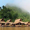 Hotele na wodzie na rzece Kwai #Tajlandia #Bangkok