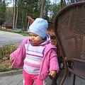 Barbara w parku zdrojowym #BeskidNiski #Wysowa