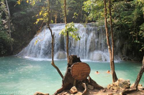 Wodopspady w rezerwacie Erawan #Tajlandia