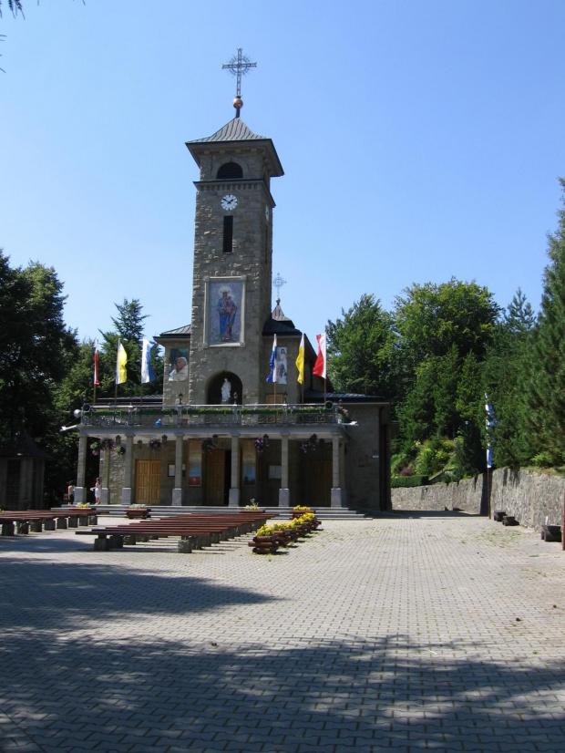 Sanktuarium Matki Bożej na Górce w Szczyrku #Góry #BeskidŚląski #Szyndzielnia #Klimczok #Skrzyczne