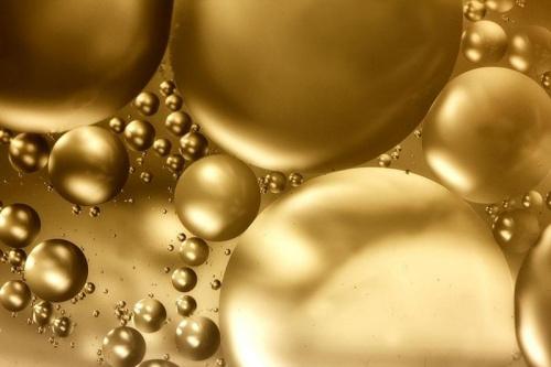 złote kulki #makro