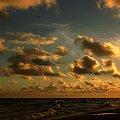 Bałtyk w porannych promieniach słońca #Bałtyk #morze #poranek #świt
