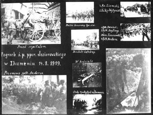 Pogrzeb por. Jeziorowskiego #HistoriaUłani
