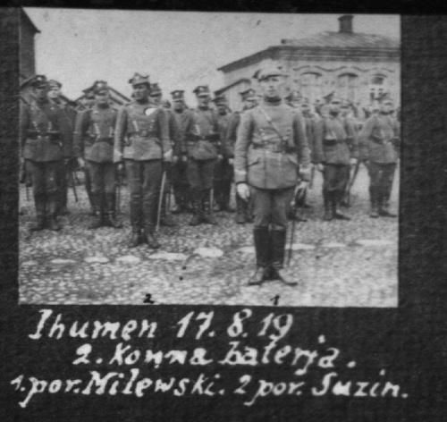 2 bateria artylerii konnej w Ihumeniu