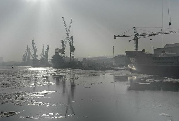 Stocznia Północna im. Bohaterów Westerplatte w Gdańsku #stocznia #Gdańsk #morze #Bałtyk #MartwaWisła