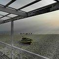 """pomost... """"Pomost Zakochanych"""" :) widok z jeszcze innego pomostu - tarasu """"Czarnej Perły"""" #morze #sea #molo #pier #bridge #Sopot"""